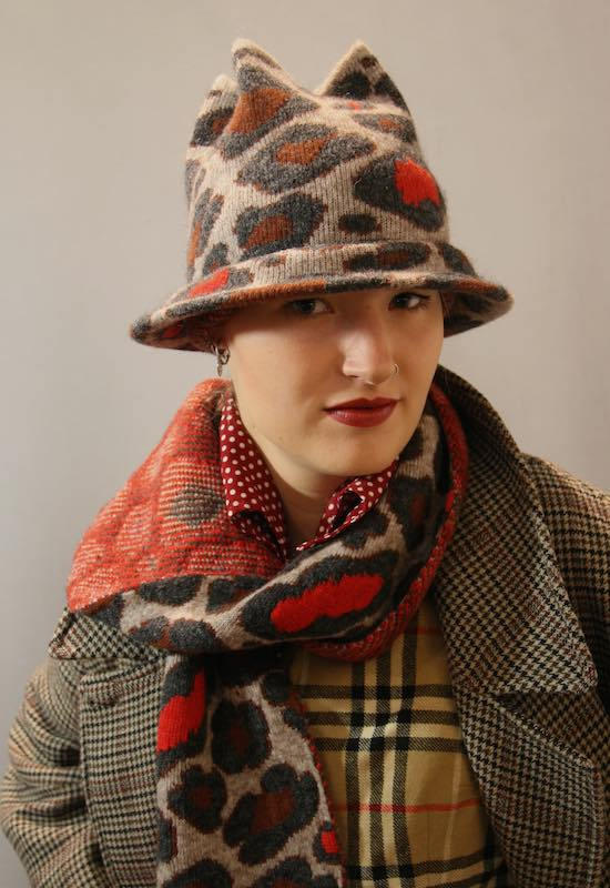 Mirjam Nuver Hats-wintercollectie-Crazy stuf-tube hoed